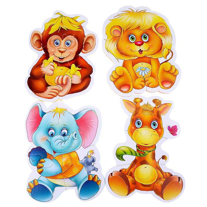 Игрушка Vladi Toys Baby puzzle Зоопарк VT1106-10<br>