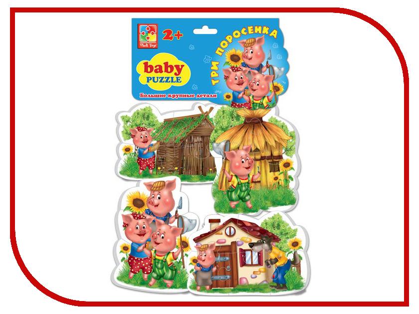 Игрушка Vladi Toys Baby puzzle Три поросенка VT1106-37<br>