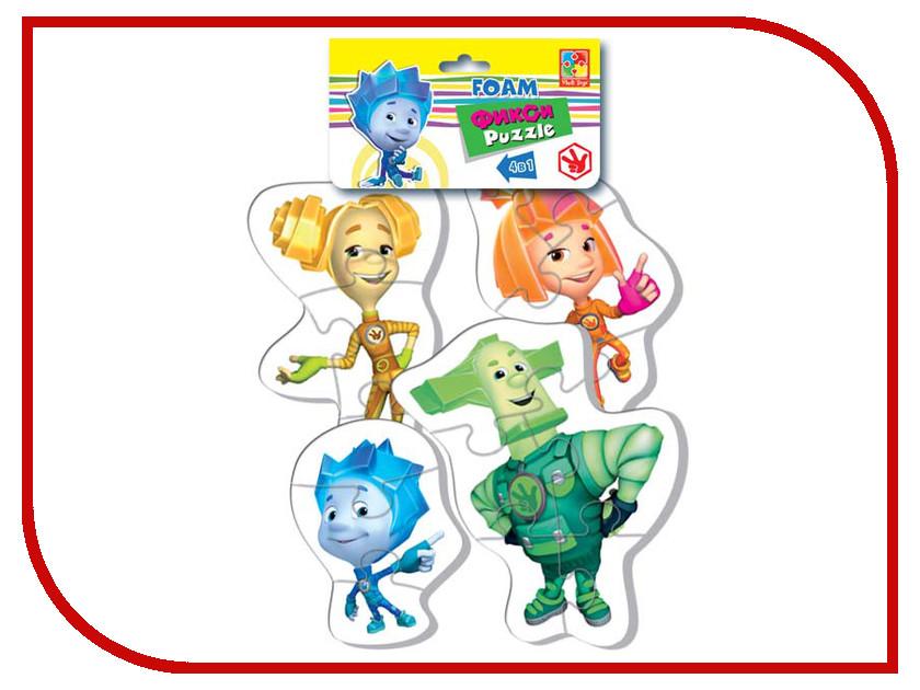 Игрушка Vladi Toys Baby puzzle Фиксики Папус VT1106-45<br>