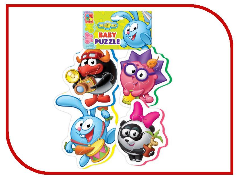 Игрушка Vladi Toys Baby puzzle Смешарики 2 VT1106-47