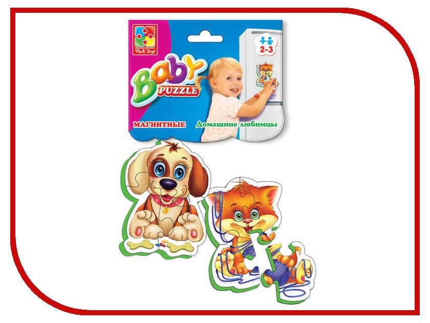 Пазл Vladi Toys Мягкие пазлы Домашние любимцы VT3208-02 пазлы vladi toys магнитные беби пазлы домашние любимцы
