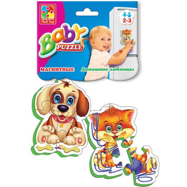 Пазл Vladi Toys Мягкие пазлы Домашние любимцы VT3208-02 цена