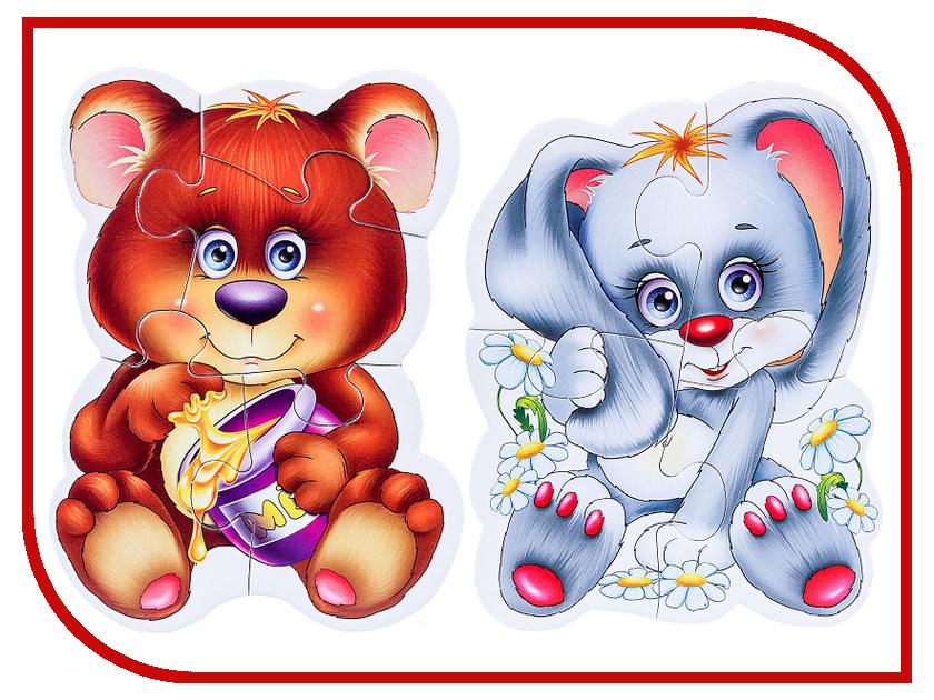 Пазл Vladi Toys Мягкие пазлы Лесные жители VT3208-03 vladi toys мягкие пазлы репка vladi toys
