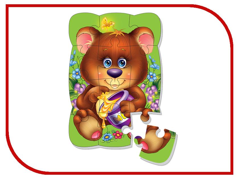 Игрушка Vladi Toys Пазлы на магните Медвежонок VT3205-35