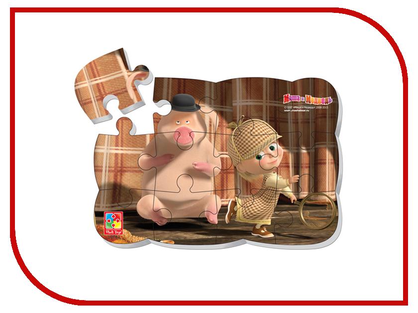 Игрушка Vladi Toys Пазлы на магните Маша Шерлок Холмс VT3205-49<br>