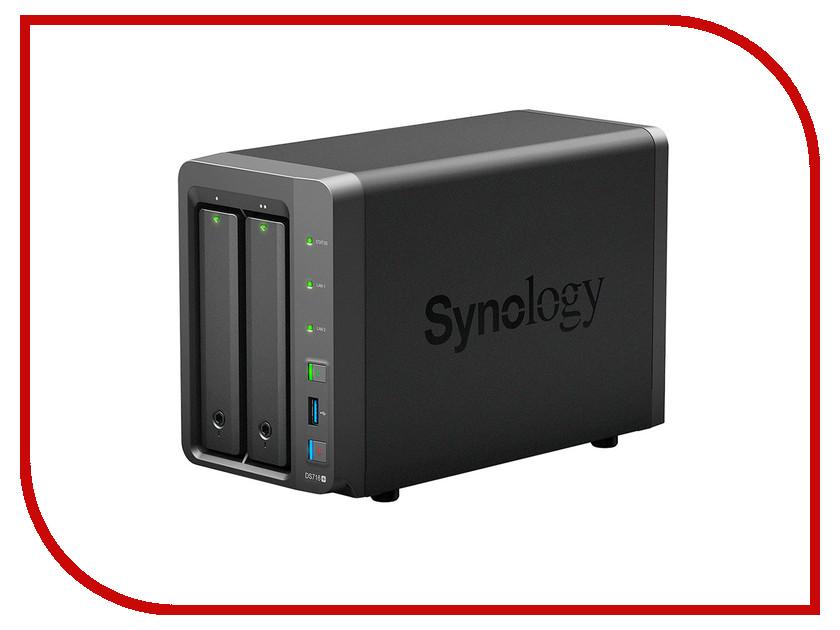 Сетевое хранилище Synology DS716+<br>
