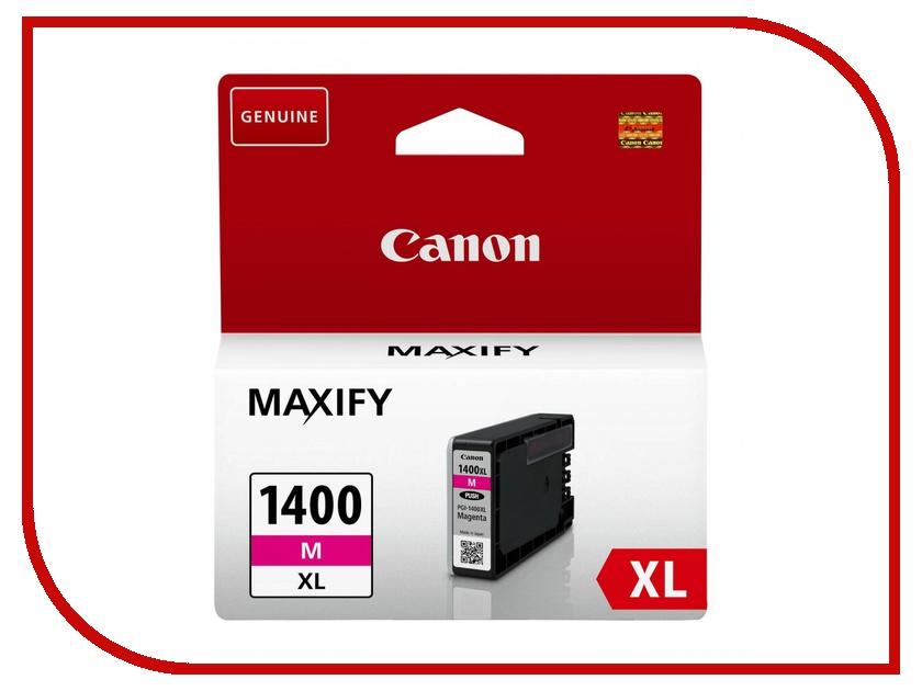 Картридж Canon PGI-1400XL Magenta для MAXIFY МВ2040/МВ2340 9203B001<br>