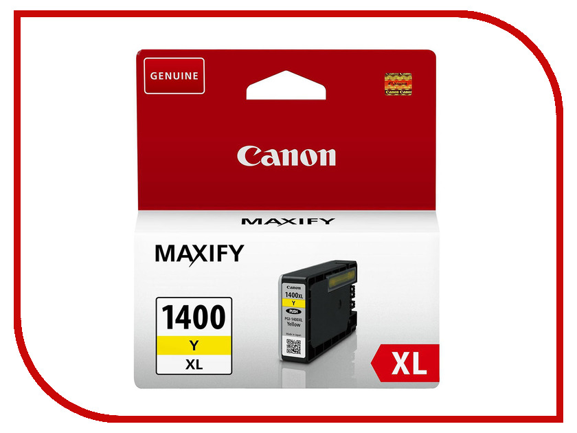 Картридж Canon PGI-1400XL Yellow для MAXIFY МВ2040/МВ2340 9204B001<br>
