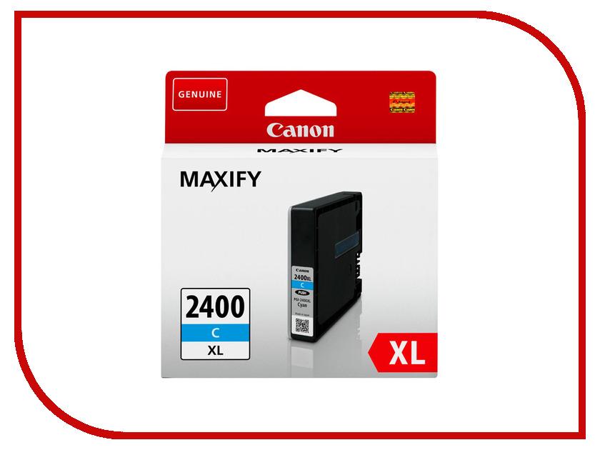 Картридж Canon PGI-2400XL 9274B001 Cyan для MAXIFY iB4040/MB5040/MB5340<br>