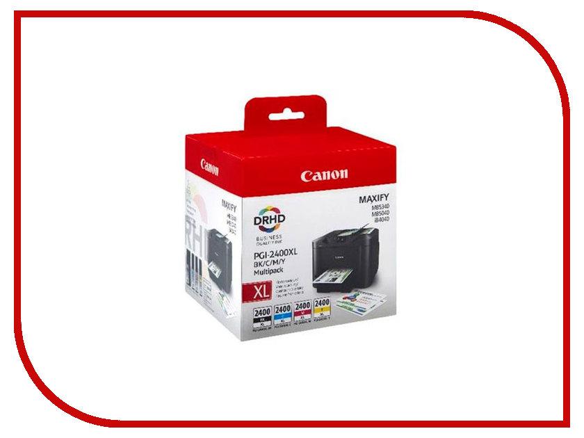 Картридж Canon PGI-2400BK/C/M/Y XL EMB MULTI для MAXIFY iB4040/MB5040/MB5340 9257B004 картридж cactus cli 426c m y cs cli426c m y