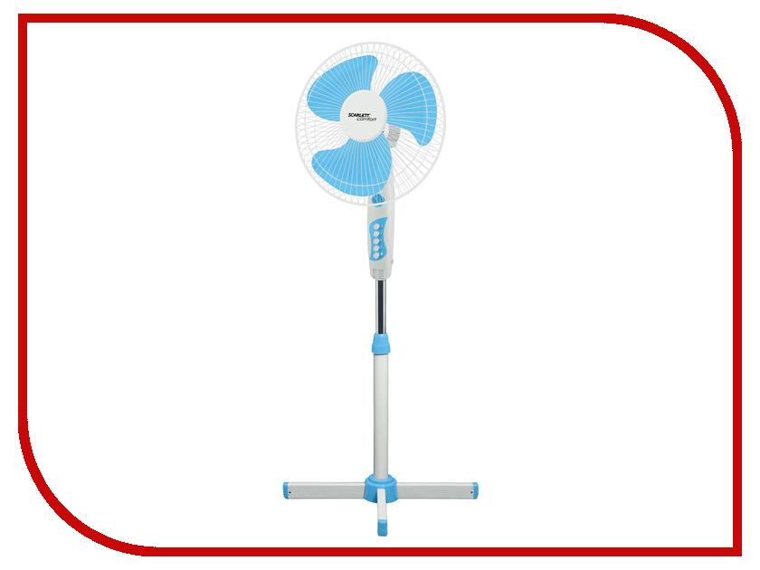 Вентилятор Scarlett SC-SF111B06 White-Blue вентилятор skiff sf 4002