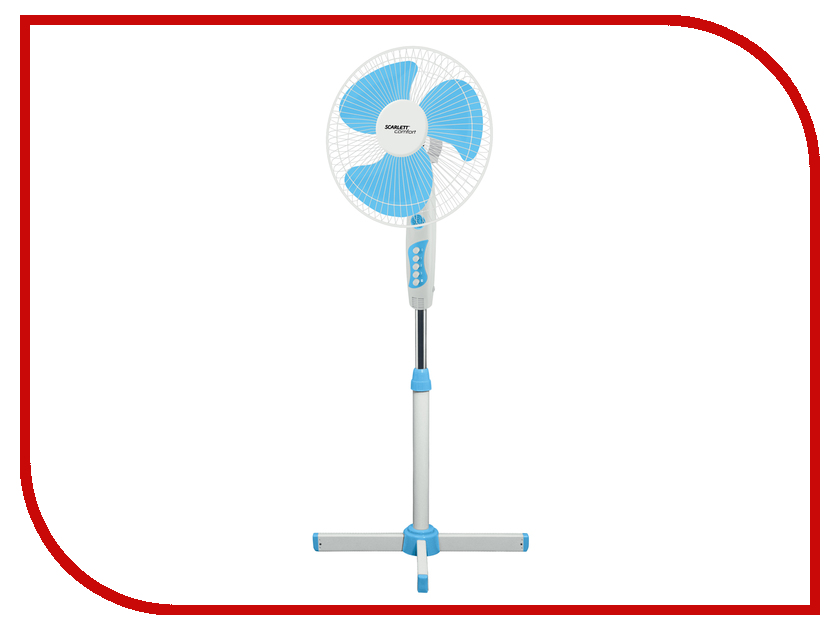 Вытяжной вентилятор Scarlett SC-SF111B06 White-Blue