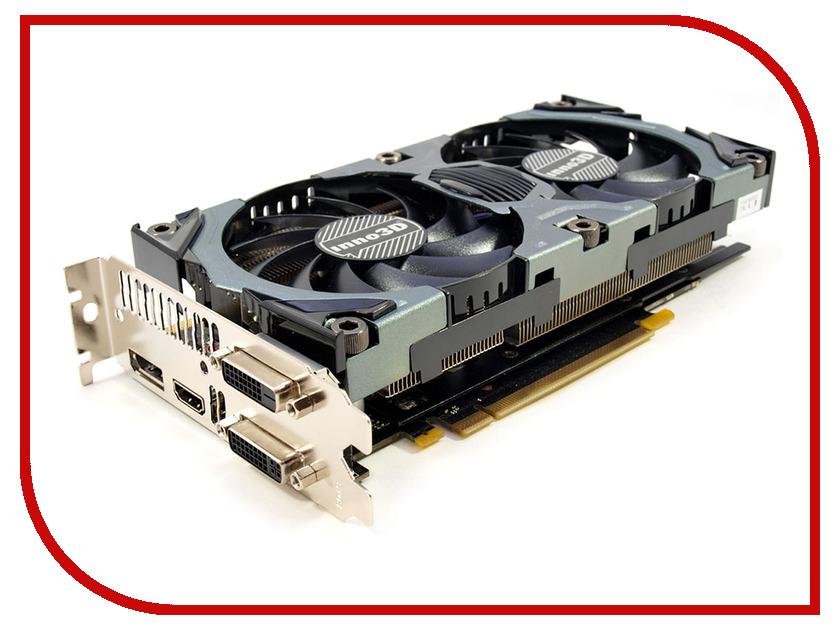 Видеокарта Inno3D GeForce GTX 970 OC Herculez X2 1088Mhz PCI-E 3.0 4096Mb 7000Mhz 256 bit DVI HDMI HDCP N97V-1SDN-M5DSX
