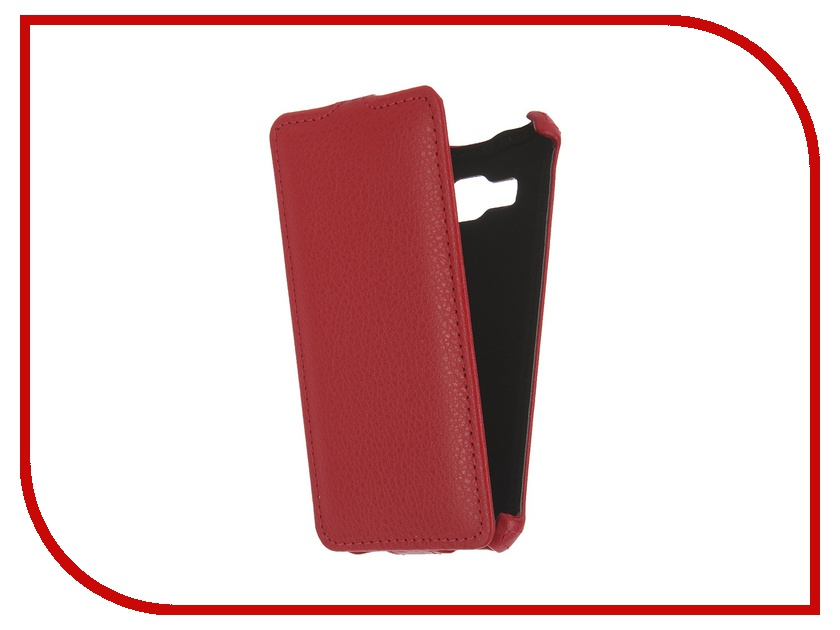 Аксессуар Чехол Samsung A310 Galaxy A3 2016 Zibelino Classico Red<br>