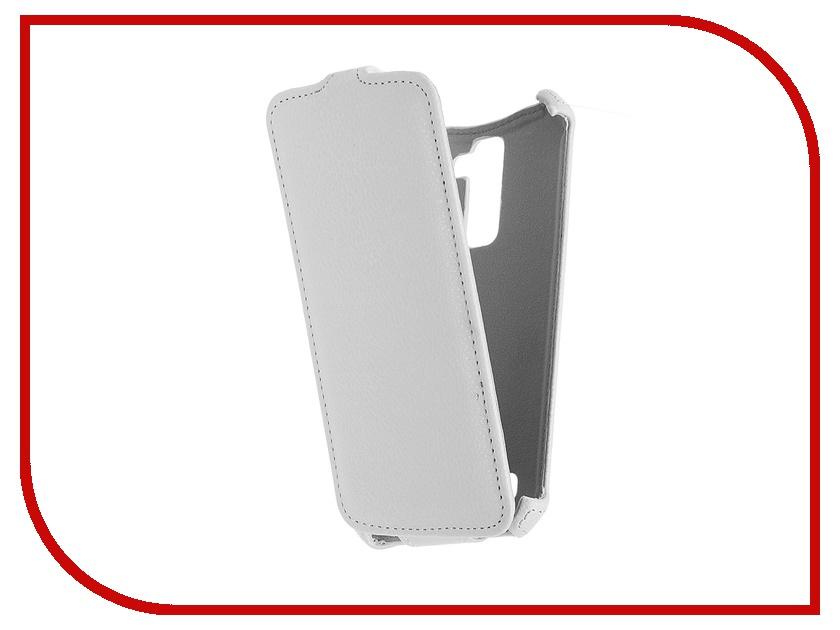 Аксессуар Чехол LG K10 Zibelino Classico White