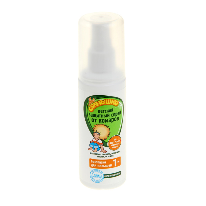 Средство защиты от комаров Моё солнышко 100мл 1102281 - спрей
