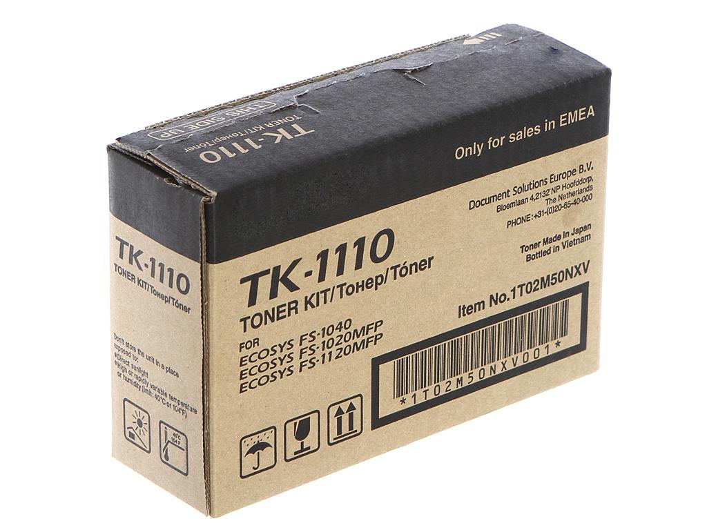 Картридж Kyocera TK-1110 для FS-1110/1024MFP/1124MFP/FS-1120MFP Black 1T02M50NX0