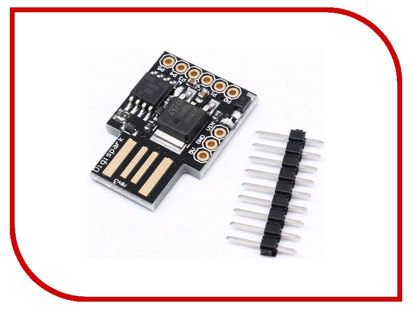 USB-модуль микроконтроллера Радио КИТ RC049<br>