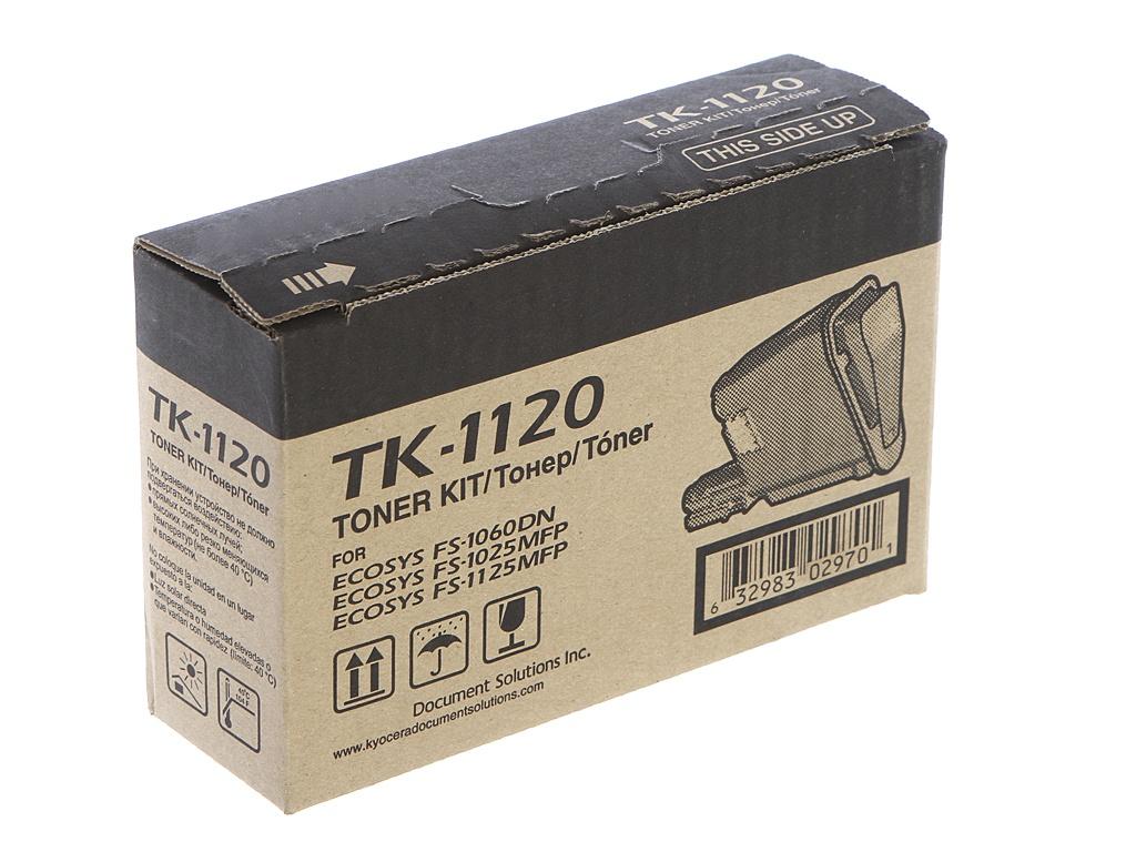 Картридж Kyocera TK-1120 Black 1T02M70NX0 для FS-1060DN/FS-1025MFP/FS-1125MFP