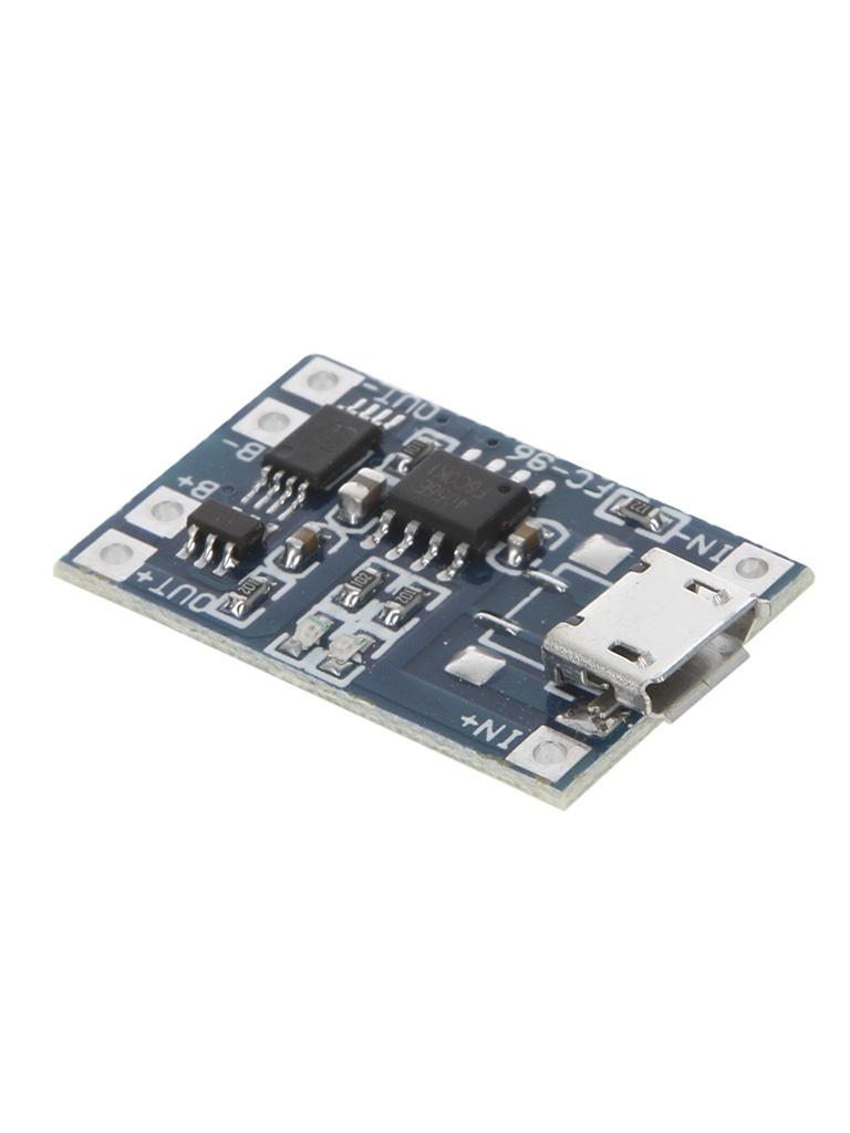 Конструктор Радио КИТ RP038 - контроллер заряда и разряда для литий-ионных аккумуляторов