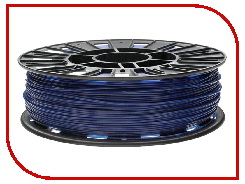 Аксессуар REC PLA-пластик 1.75mm Blue 750г