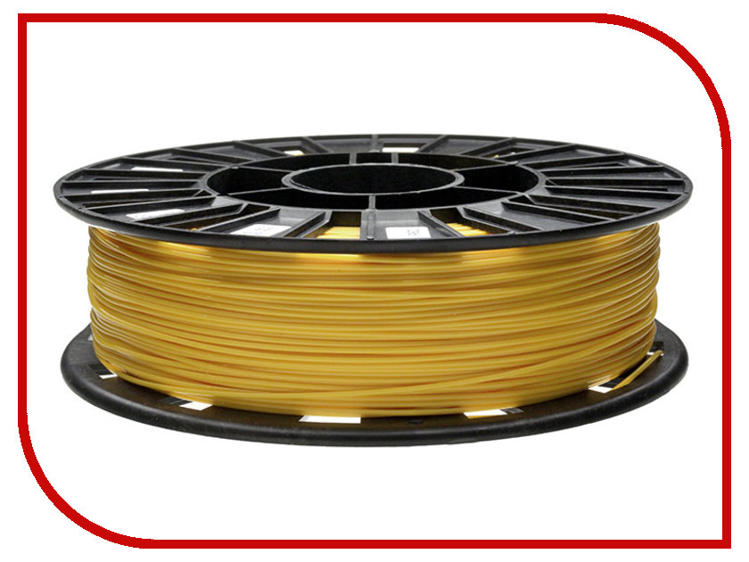 Аксессуар REC PLA-пластик 1.75mm Yellow 750г<br>