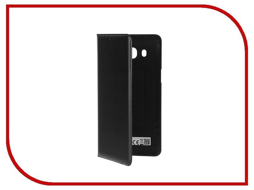 Аксессуар Чехол Samsung Galaxy J5 2016 Flip Wallet Black EF-WJ510PBEGRU ef mg955cvegru samsung