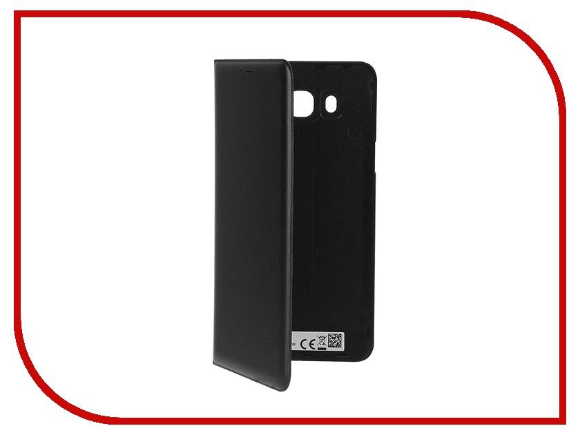 Аксессуар Чехол Samsung Galaxy J7 2016 Flip Wallet Black EF-WJ710PBEGRU<br>