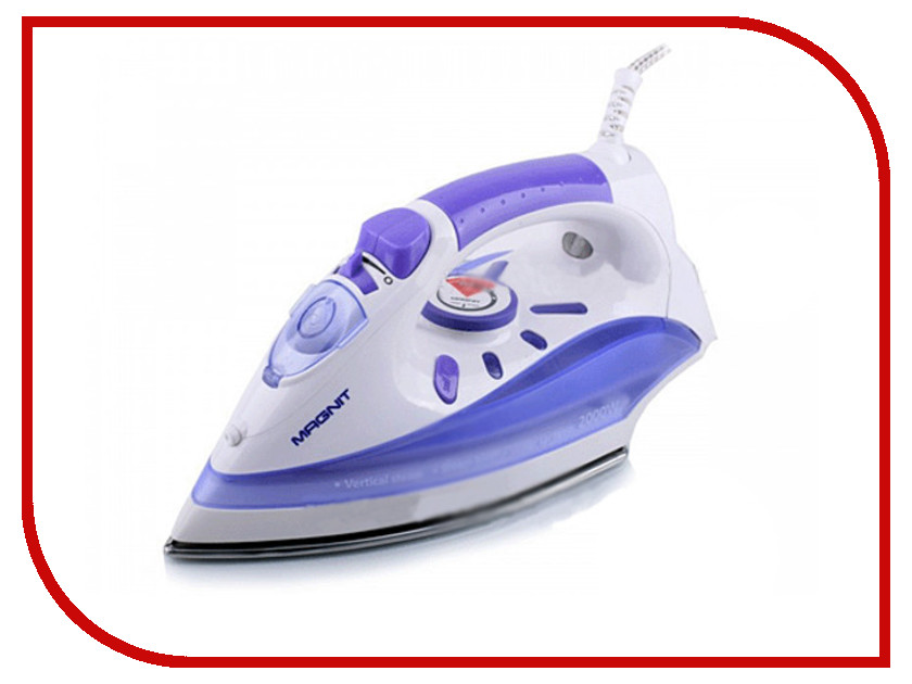 Утюг MAGNIT RMI-1601 White-Purple<br>