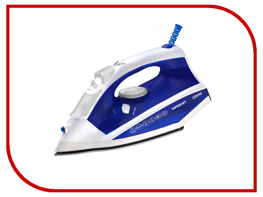 Утюг MAGNIT RMI-1830 Blue-White<br>