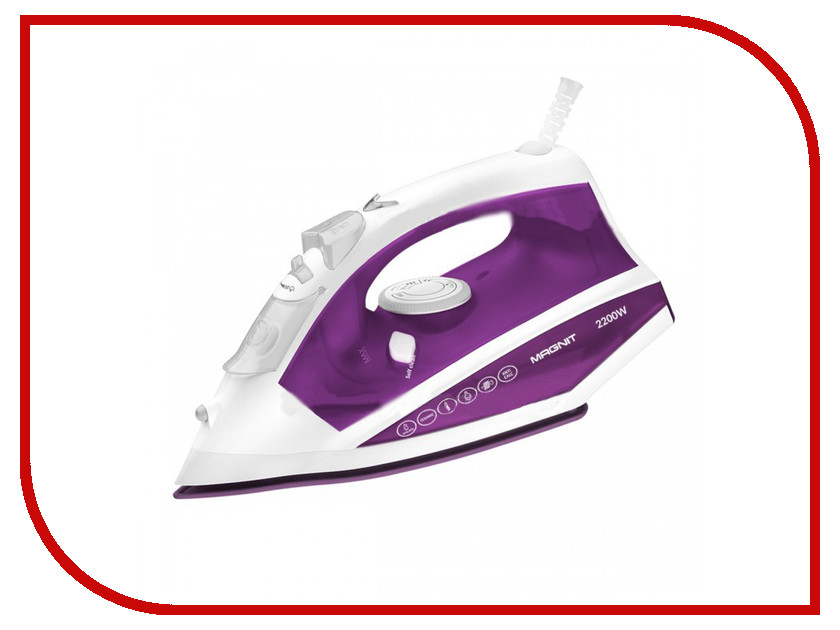 Утюг MAGNIT RMI-1831 Purple-White<br>