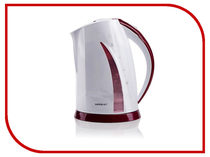 Чайник MAGNIT RMK-3171 White-Bordo<br>