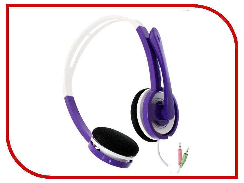 Гарнитура Havit HV-H2078d Purple<br>