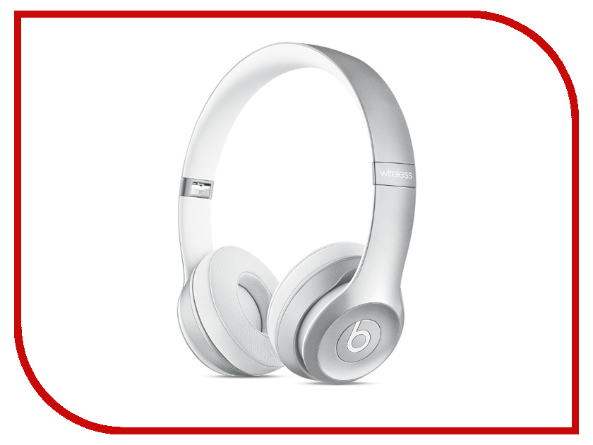 Гарнитура Beats Solo 2 Wireless Silver MKLE2ZE/A<br>