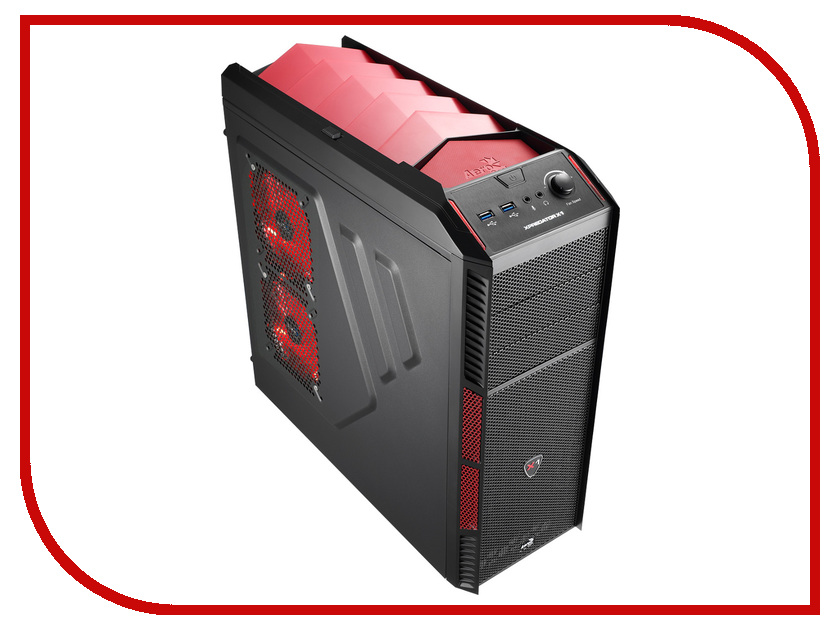 Корпус AeroCool XPredator X1 Red Edition