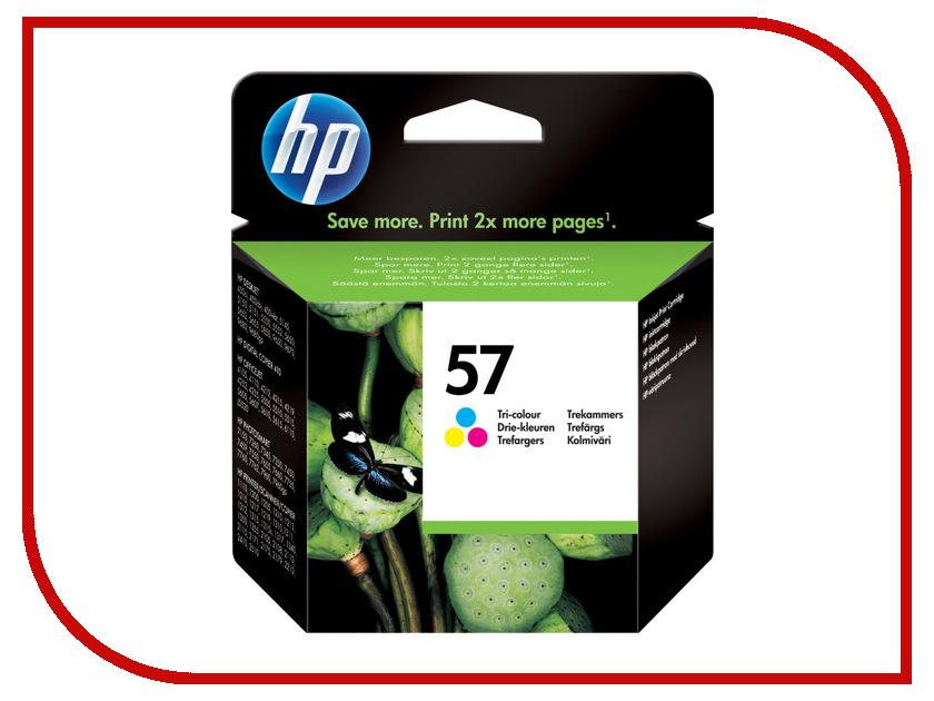 Картридж HP 57 C6657AE Tri-colour для DJ450C/5550 картридж hp 135 c8766he tri colour для dj5743 6543 6843 oj6213 7313 7413 ps2613 2713 8153 8453