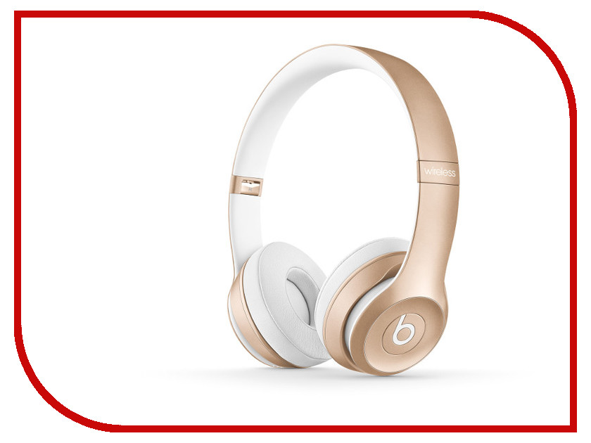 Гарнитура Beats Solo 2 Wireless Gold MKLD2ZE/A<br>