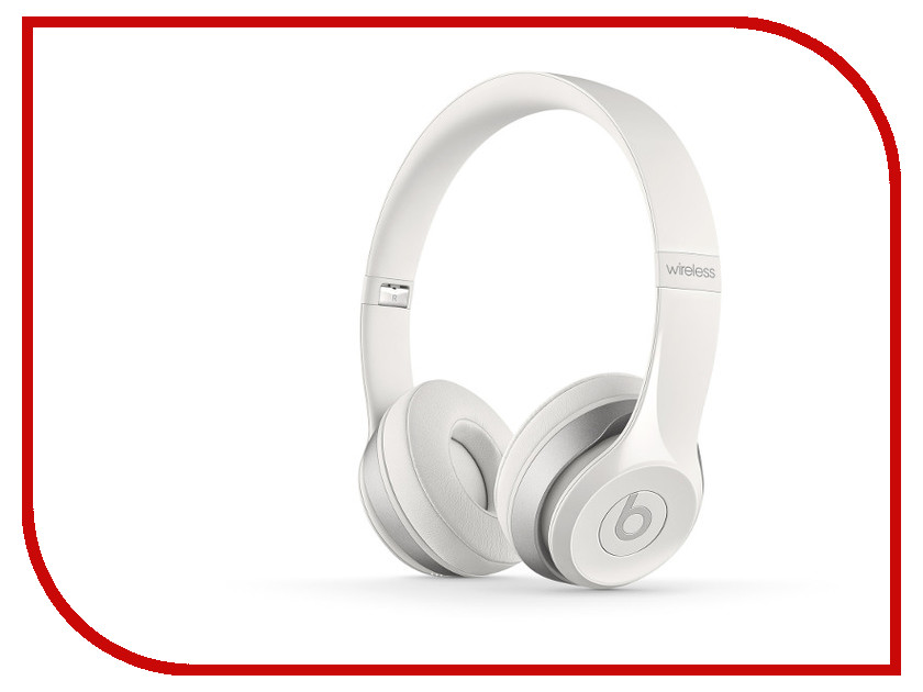 Гарнитура Beats Solo 2 Wireless White MHNH2ZE/A<br>