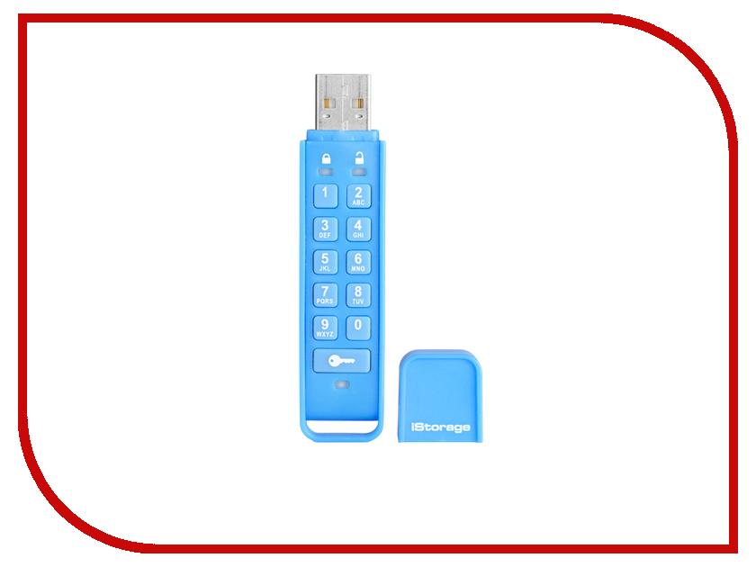 USB Flash Drive 16Gb - iStorage DatAshur Personal 256-bit IS-FL-DAP-DB-16<br>