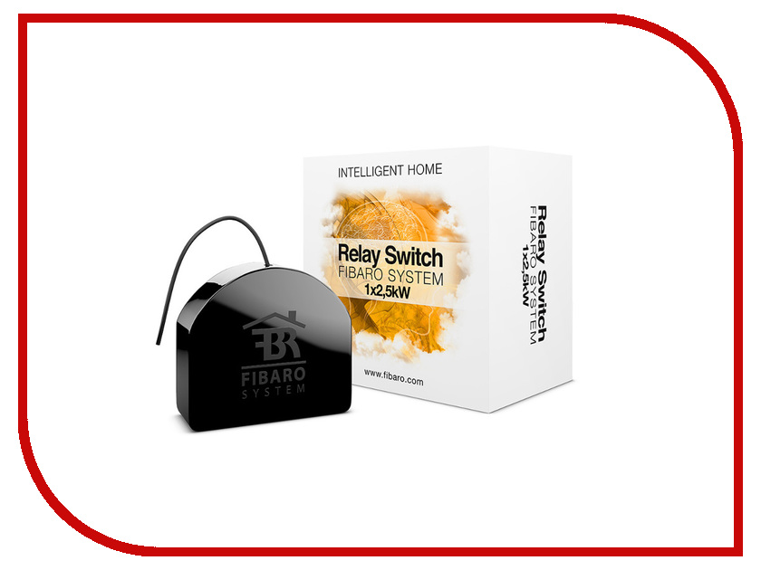 Исполнитель Fibaro Single Switch 2.5kW FIB_FGS-212 встраиваемое реле<br>