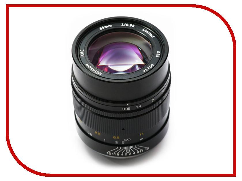 Объектив Mitakon Speedmaster Sony E 35 mm F/0.95
