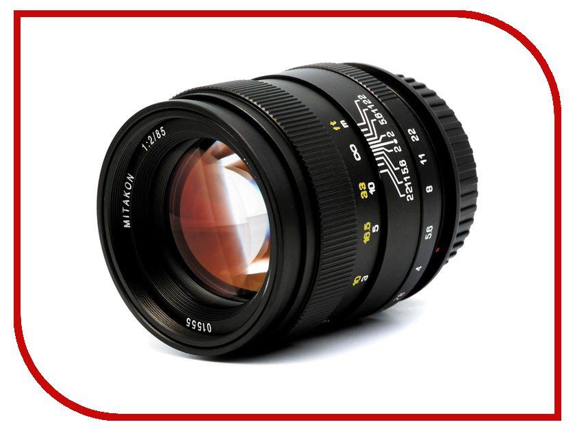 Объектив Mitakon Creator Nikon F 85 mm F/2