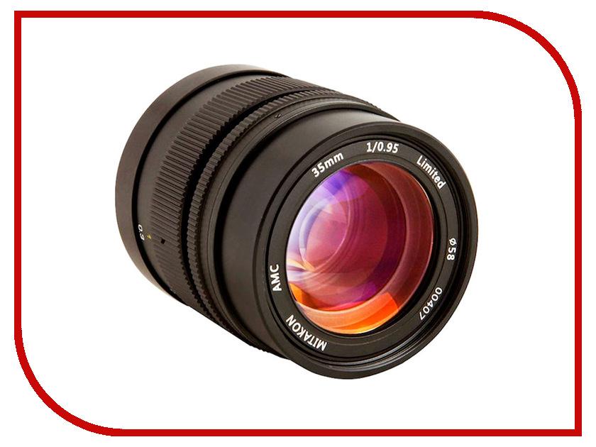 Объектив Mitakon Speedmaster Fujifilm X 35 mm F/0.95 II