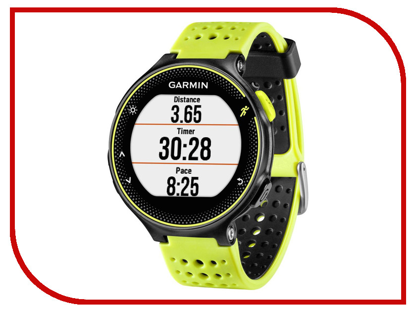 Умные часы Garmin Forerunner 230 Yellow-Black HRM3 010-03717-53<br>