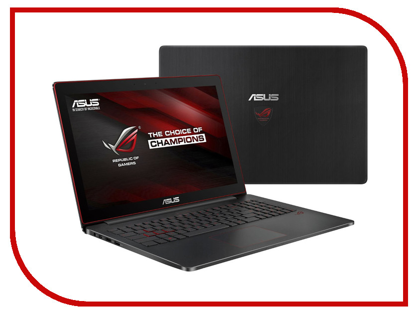 Ноутбук ASUS ROG G501VW-FY139T 90NB0AU3-M02130 (Intel Core i7-6700HQ 2.6 GHz/12288Mb/1000Gb + 128Gb SSD/No ODD/nVidia GeForce GTX 960M 2048Mb/Wi-Fi/Cam/15.6/1920x1080/Windows 10 64-bit)<br>