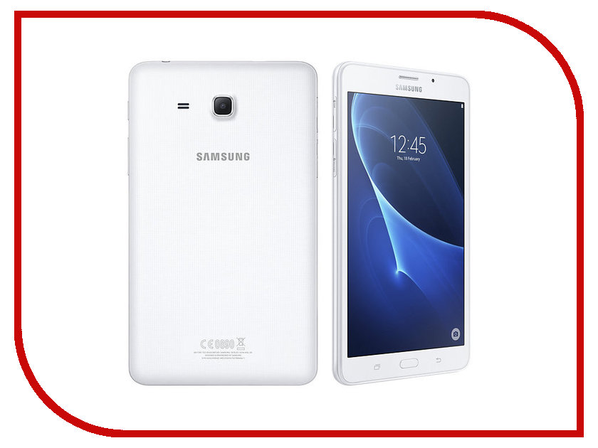 Планшет Samsung SM-T285 Galaxy Tab A 7.0 8Gb LTE White SM-T285NZWASER sm devicenet sm universal sm applications sm ethernet used 100% tested with free dhl ems