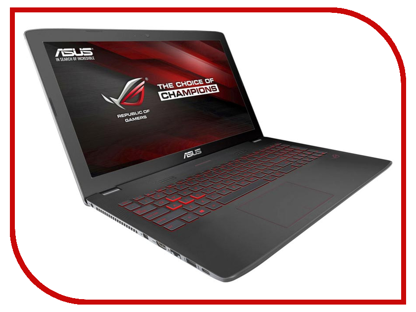 Ноутбук ASUS ROG GL752VW-T4236T 90NB0A42-M03120 (Intel Core i5-6300HQ 2.3 GHz/8192Mb/2000Gb + 128Gb SSD/DVD-RW/nVidia GeForce GTX 960M 2048Mb/Wi-Fi/Cam/17.3/1920x1080/Windows 10 64-bit)<br>