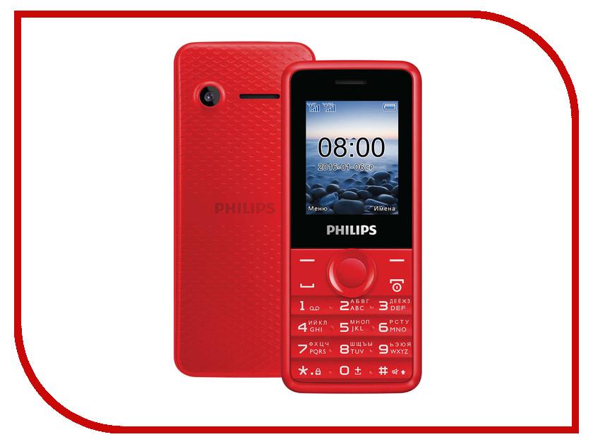 Сотовый телефон Philips E103 Xenium Red