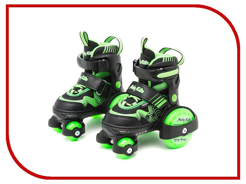 Коньки Moby Kids Green 26-29 64619<br>