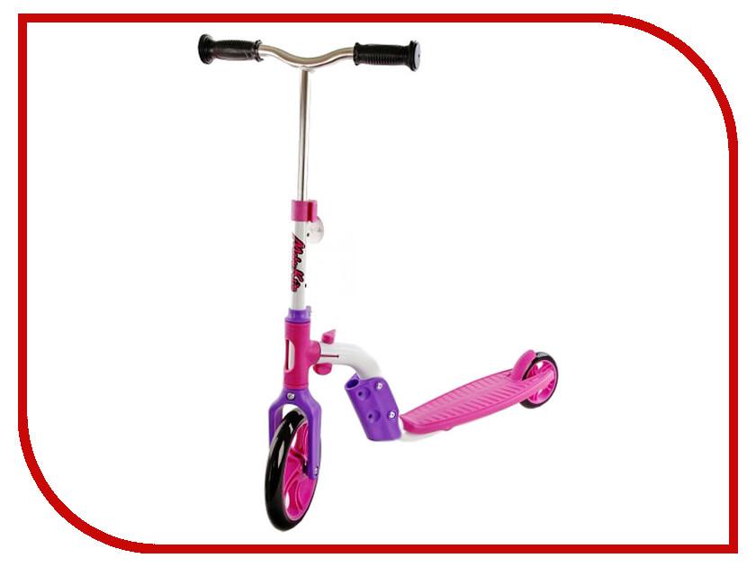 Самокат Moby Kids 64627 Pink самокат moby kids 2 в 1 розовый двухколёсный 64627